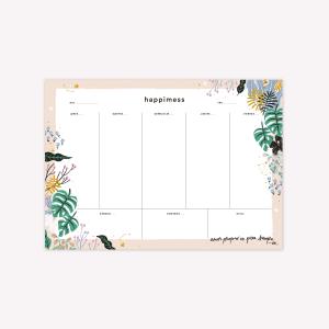 Happimess  Week Planner