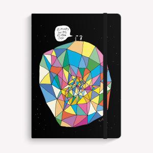 Cuaderno Cosido Mediano El Mundo con Vos Punteado