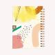 Cuaderno Anillado Mediano Quilombo Feliz Rayado