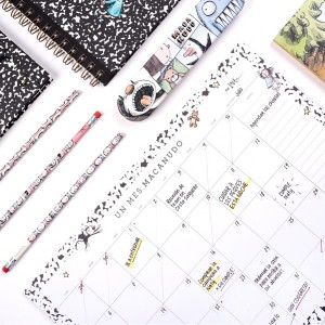 Macanudo Composition Monthly Planner