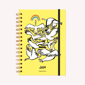 Agenda 2020 A5 Happimess Vuela Libre semana a la vista