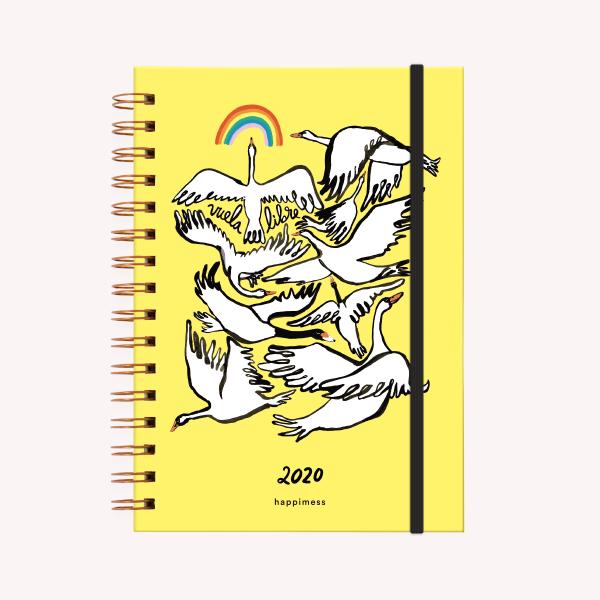 Vuela Libre A5 2020 Weekly Journal