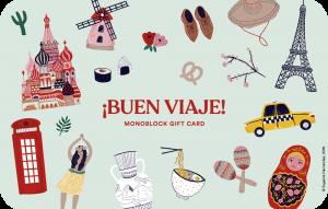 Gift Card Wanderlust Buen Viaje