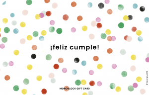Gift Card Happimess Cumple Confeti