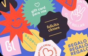 Gift Card Monoblock Felicitaciones