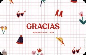 Gift Card Wanderlust Gracias