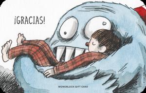 Gift Card Macanudo Olga abrazo